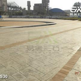 水泥印花地坪,耐磨艺术地坪,印模地面,仿木纹路面