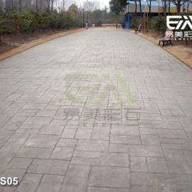 印模地坪,水泥压花路面,压印混凝土--最划算