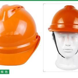 梅思安ABS工地施工安全帽防砸劳保建筑帽带孔透气款防砸防护帽