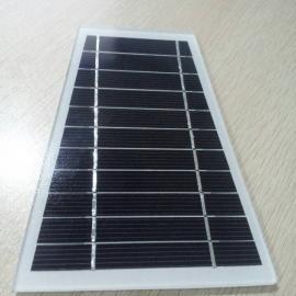梯形单晶5.5V2.1W太阳能板