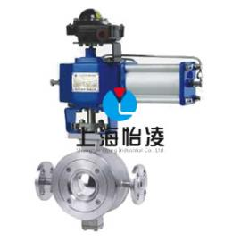 保温调节阀|上海怡凌YLBQ677 V型调节保温球阀