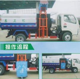 东风福瑞卡挂桶式垃圾车贵州哪儿有卖的?多少钱?