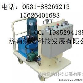 济南绿动CDZ氮气充氮增压车