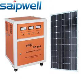 赛普直销500W小型太阳能家用系统 太阳能发电机