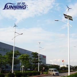 广州地区厂区道路照明专用太阳能风能路灯100W
