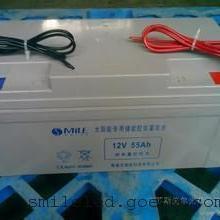 太阳能路灯专用12V胶体免维护蓄电池12V55AH