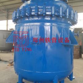 搪玻璃反应罐丨玻璃反应釜-郑州铁营设备专业生产