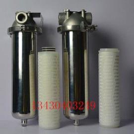 10寸单芯不锈钢卡箍式过滤器,深圳龙华不锈钢单芯过滤器厂家