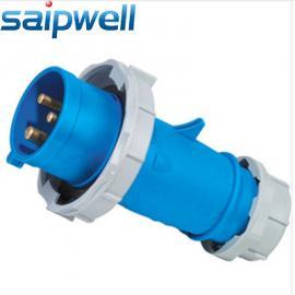 厂家直销16A 3P电缆接线插头 防水防尘工业插头 连接器