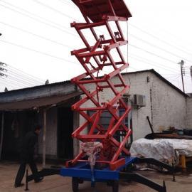 韶关工地安装用移动式液压升降平台