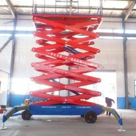 广西升降平台 百色电动高空作业平台 河池移动剪叉式升降机
