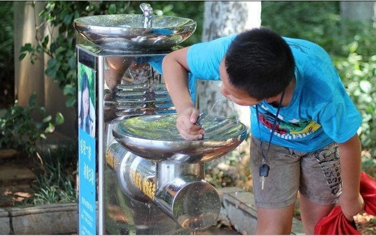 风景区户外直饮水台图片/高清大图 - 谷瀑环保