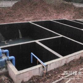 成都生活污水和餐厅污水处理设备每天约15吨