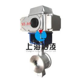 电动球阀|上海怡凌VQ977电动V型调节球阀
