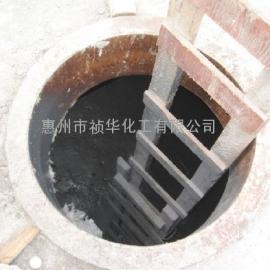 深圳大鹏核电站污水池聚脲喷涂施工