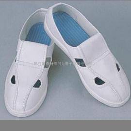 防静电无尘鞋|白帆布四眼鞋