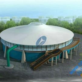 发电厂废水处理加盖膜|污水池反吊膜结构|设计加工安装