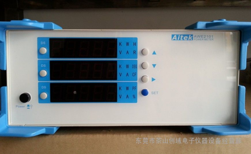 500V40A台湾爱特AWE2101单相电参数测量仪功率计