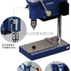 HOZAN/K-21 钻孔机 K-21 进口迷你台式钻孔机 宝山台式钻孔机