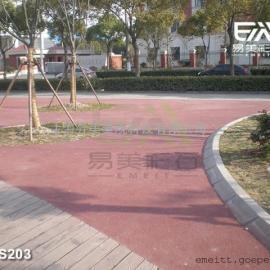 全��范��施工透水路面-彩色透水-透水地坪材料