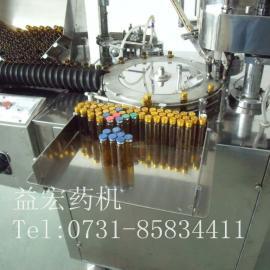 YG-10口服液灌轧机_单头灌装机_口服液灌装锁口一体机