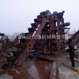 山东广通新型挖斗洗砂细沙回收机