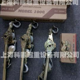 台湾PATNGK钢丝绳紧线器、2T棘轮紧线器