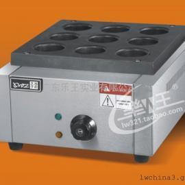 电热9孔红豆饼机   商用烤饼炉  车轮饼机