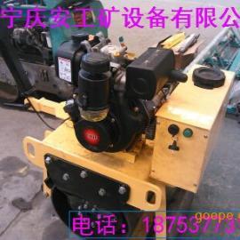 手扶单轮重型(柴油)压路机 大轮径单轮压路机