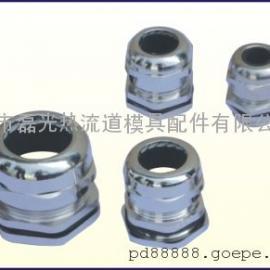 PG11、16、21、29;热流道温控器电缆连接线金属防水接头