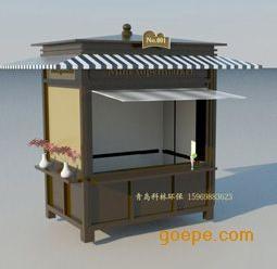 青岛早餐车、售货亭、售货棚、烧烤架