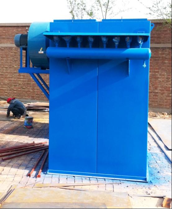 水泥搅拌站仓顶除尘器单机除尘器是首选旭阳伟业环保