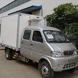 市区双排小型运输药品冷藏车价格