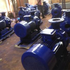 ISW型�P式�渭�管道�x心泵�P式�挝��x心管道泵空�{泵
