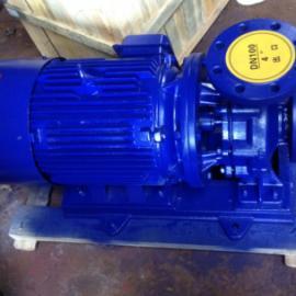 ISW型�P式管道�x心泵 �P式空�{管道循�h水泵