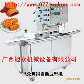广西旭众牌月饼机厂家,月饼机生产线,月饼打饼机