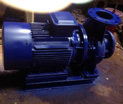 ISG100-160A立式管道离心泵