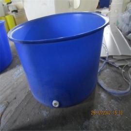 友特厂家直销PE材质1200L大口圆桶,1200L塑料圆桶
