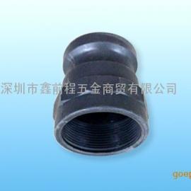 PP塑料快速接头A型内螺纹凸轮槽式公接头