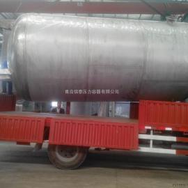 50立方不锈钢储气罐