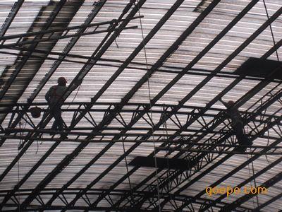 佛山钢结构防腐处理方案|喷砂除锈防腐施工