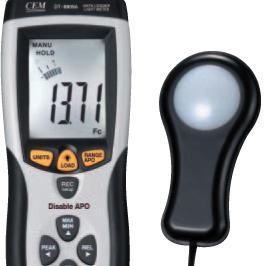 香港CEM品牌 专业光度计 DT-8809A