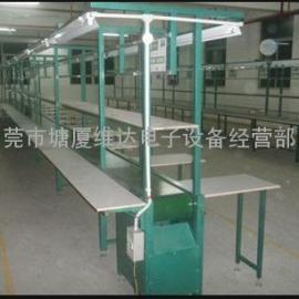 湘潭市塑胶烘干线 电子包装生产线 皮带流水线