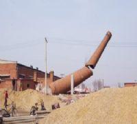 太原拆烟囱公司-人工拆除烟囱施工队