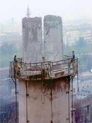 拆烟囱-拆烟筒公司