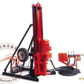湖南永州KQD165B电动潜孔钻机|开山潜孔钻机