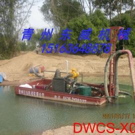 甘肃河道采砂投资最少的DW抽砂泵式抽沙船