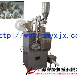 尼龙布茶叶包装机-三角袋茶叶包装机