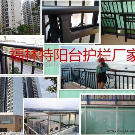 广东锌合金阳台护栏工程/护栏厂家