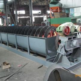 日处理500吨钾长石选矿设备-螺旋洗矿机设备价格
